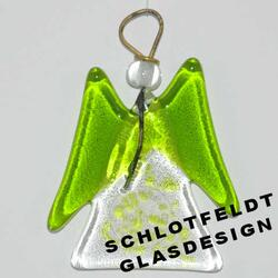 Hang Angel of Glass from Schlotfeldts-Glasdesign Svaneke on Bornholm