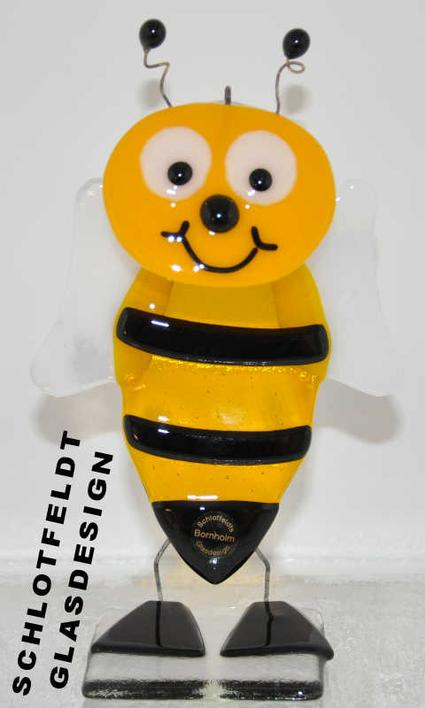 Bumblebees of Glass from Schlotfeldts-Glasdesign Svaneke on Bornholm