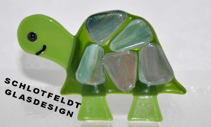 Turtle of Glass from Schlotfeldts-Glasdesign Svaneke on Bornholm.